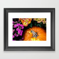 Autumn Still Life Framed Art Print