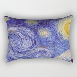 Vincent Van Gogh Starry Night Rectangular Pillow