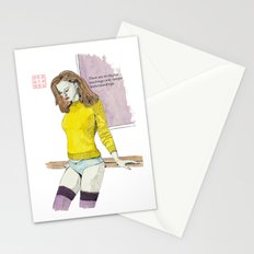 The Yellow Sweater Stationery Cards