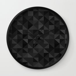 Low Polly Wall Clock