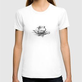 Head of the frog T-shirt