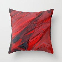 Cherry Marble 04 Throw Pillow