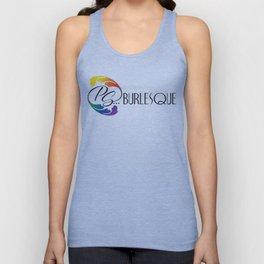 ps...burlesque logo Unisex Tank Top