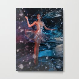 The plastic ballerina  Metal Print