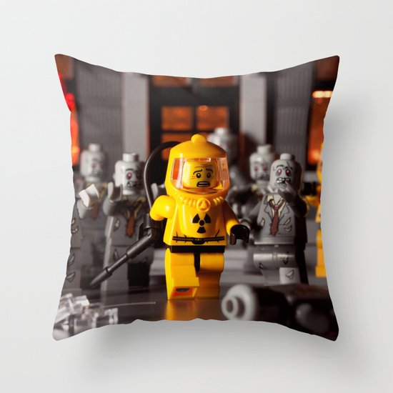 Outbreak Throw Pillow