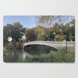 Autumn in New York Cutting Board