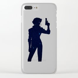 Anime Space Inspired Shirt Clear iPhone Case