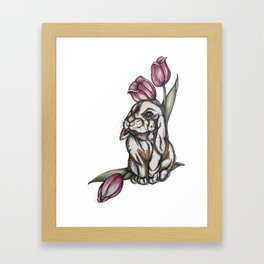 Some Bunny to Love Framed Art Print
