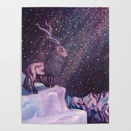Milky Way Markhor Poster