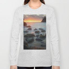 Sunset Near Pewetole Island Long Sleeve T-shirt
