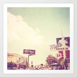 Ketchup. West Hollywood Los Angeles photograph Art Print