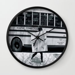 Positive Connections Wall Clock
