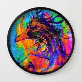 Inner Reflection Wall Clock