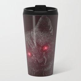 Bad Kitty! Metal Travel Mug