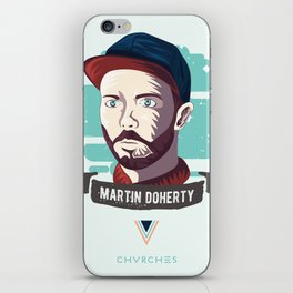 Martin Doherty  - CHVRCHES iPhone Skin