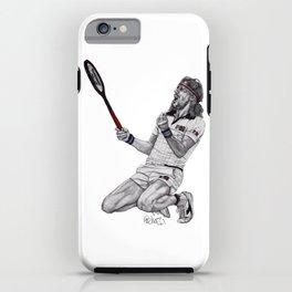 Tennis Borg iPhone Case