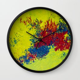 Virus Wall Clock