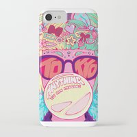 travel poster iPhone & iPod Cases featuring Tokyo Travel Poster by Caitlin Quirk