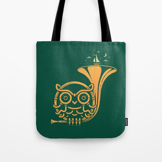 Sunset Melody Tote Bag