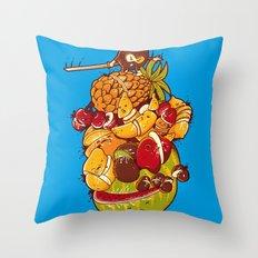 Little Warrior Throw Pillow