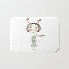 The Great Deer Pretender. Bath Mat