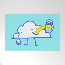 The Coffee Cloud Welcome Mat