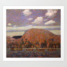 Tom Thomson - The Pointers - Canada, Canadian Oil Painting - Group of Seven Art Print