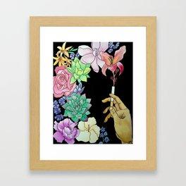Toxic Paradox Framed Art Print