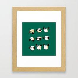 OLYMPIC LIFTING  Tofu Framed Art Print