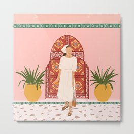 Colours of Morocco II  Metal Print
