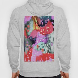 Silver, Pink & Purple Party Hoody