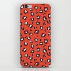 Abstract leopard spots pattern iPhone Skin