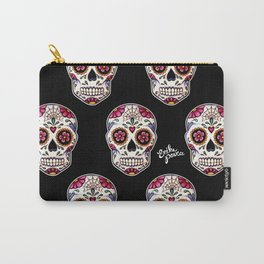 Sugar Skull - black Carry-All Pouch
