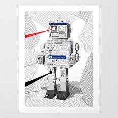 Photobot Art Print