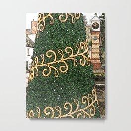 Usk Christmas Towers Metal Print