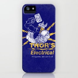 Thor - Thor's Electrical iPhone Case