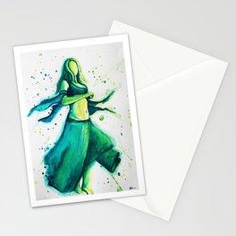 Green Dancer Stationery Cards