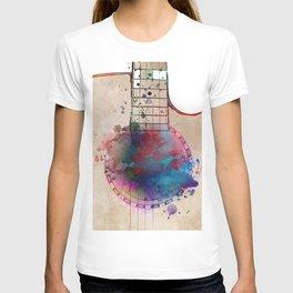 Guitar art 19 #guitar #music T-shirt