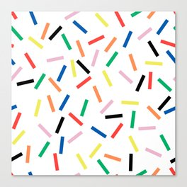 Sprinkles Fresh Canvas Print
