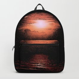 KISSING ON THE BEACH Backpack