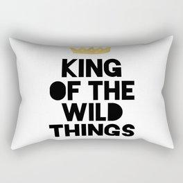 KING OF THE WILD THINGS Rectangular Pillow
