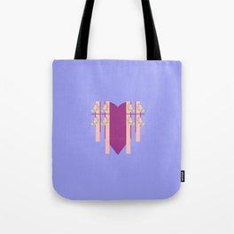 17 E=Hearty3 Tote Bag