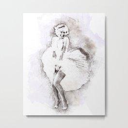 Marilyn portrait 03 Metal Print
