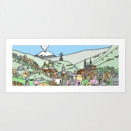 Quito Art Print