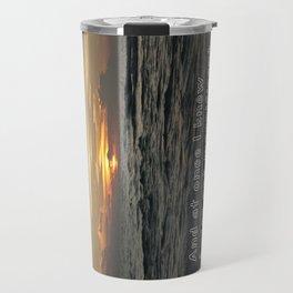 Bon Iver - Holocene Travel Mug