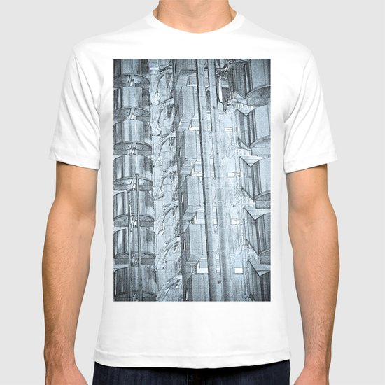 Lloyd's of London Building Art T-shirt