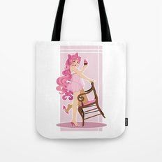 Sailor Moon Pinup - Chibiusa Cupcake Tote Bag