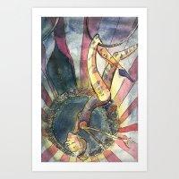 Acrobat Art Print