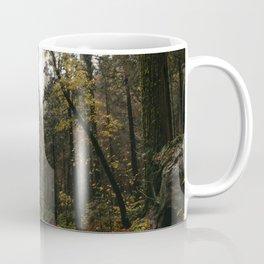 Fall Road Trip Through A Forest Coffee Mug