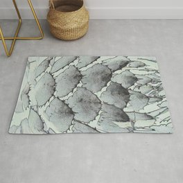 Aloe Vera Abstract Rug